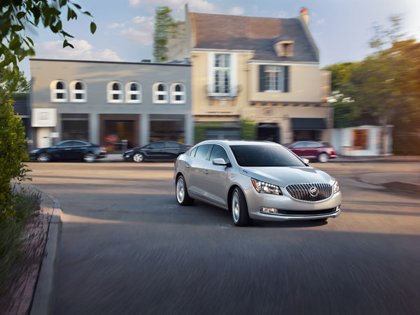 New Buick LaCrosse Technologies Redefine Luxury