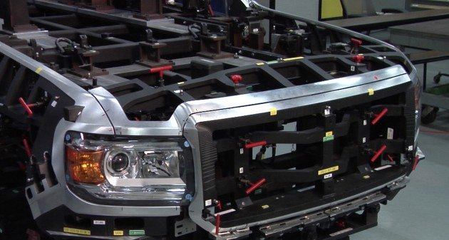 It Takes High-Tech Lasers To Make The 2015 GMC Canyon Body