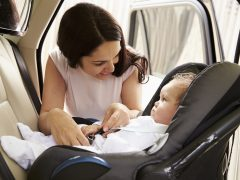 baby safety in cars